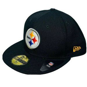 New Era Pittsburgh Steelers Hat NFL 59Fifty 7 5/8
